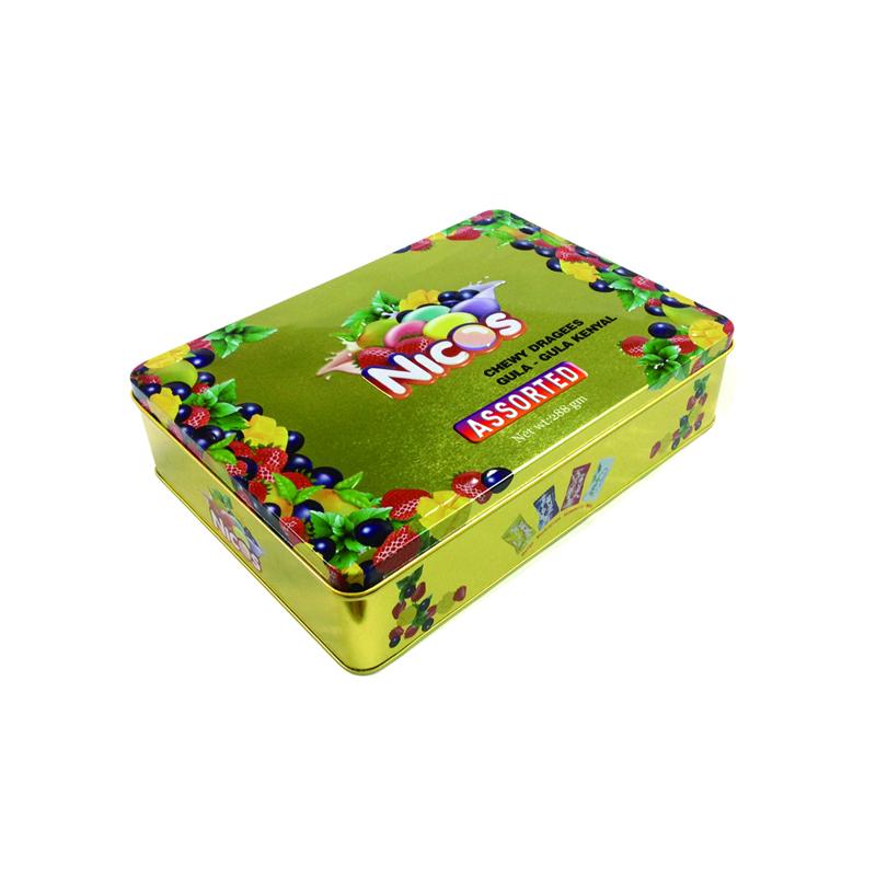 广东糖果铁罐加工厂|糖果马口铁铁罐定制生产