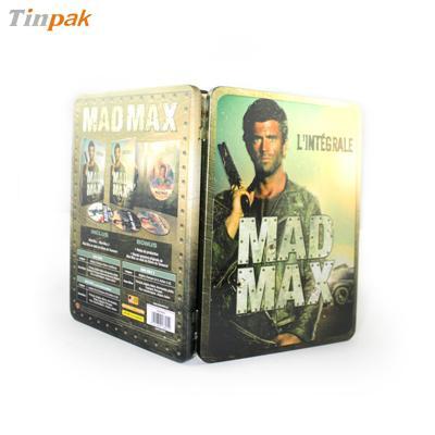 疯狂的麦克斯电影DVD包装盒|澳大利亚动作电影光碟包装盒