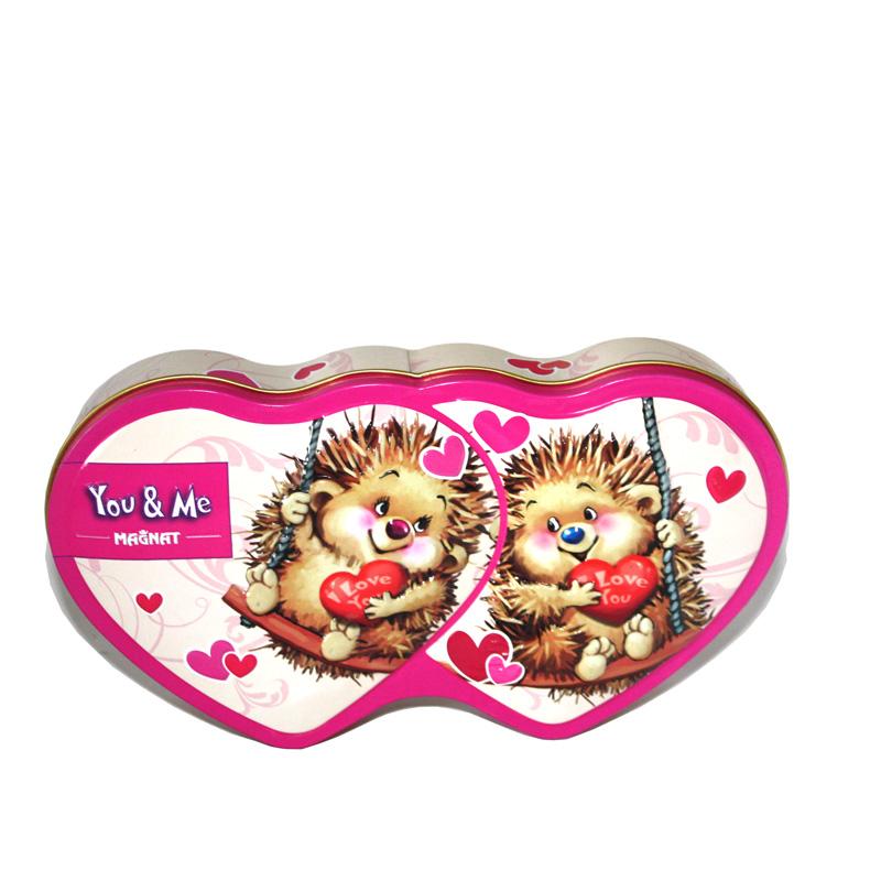 深圳春节精美糖果铁罐|铁质雕刻糖果包装盒子