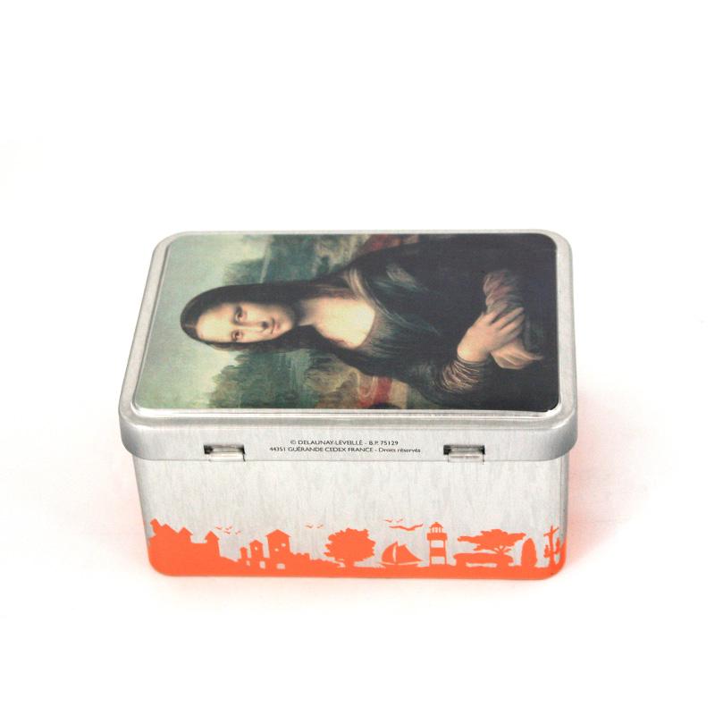 春节方形马口铁糖果包装盒|高档春节糖果包装铁盒供应商