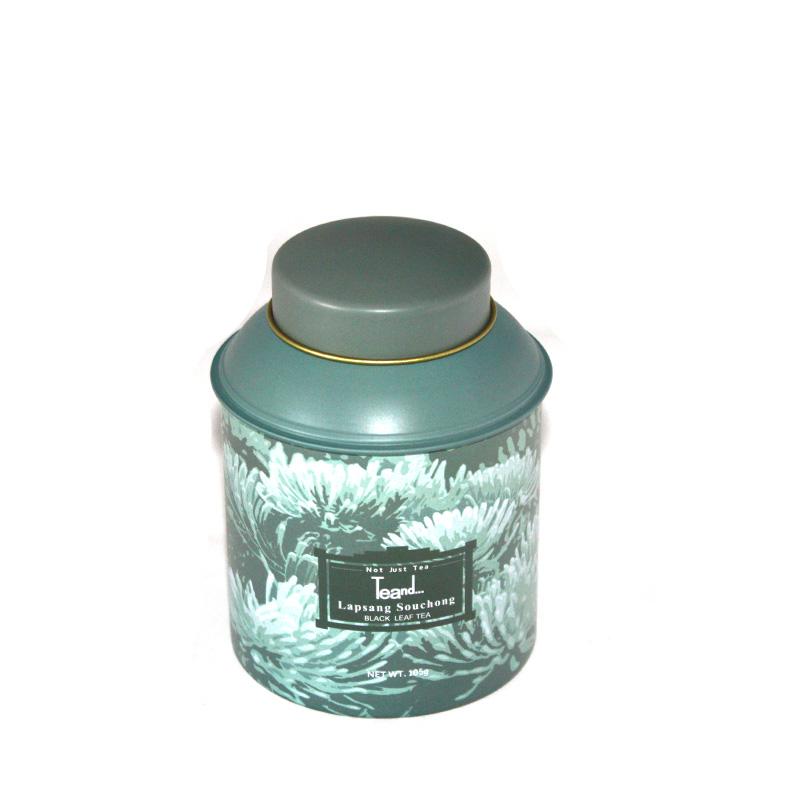 创意圆筒黑茶茶叶包装铁盒定做
