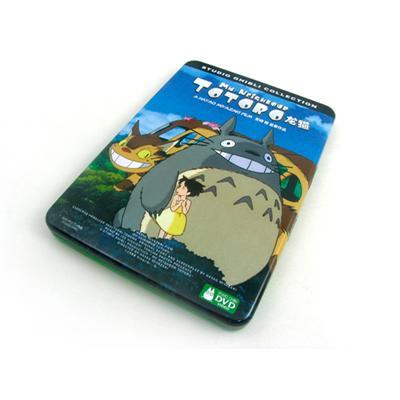 长方形国产动漫电影DVD铁盒马口铁