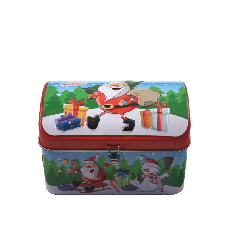 胶印拱盖式盐焗腰果铁罐包装|马口铁带激凸盐焗腰果罐批发