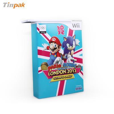 经典游戏超级玛丽DVD包装盒马口铁铁盒