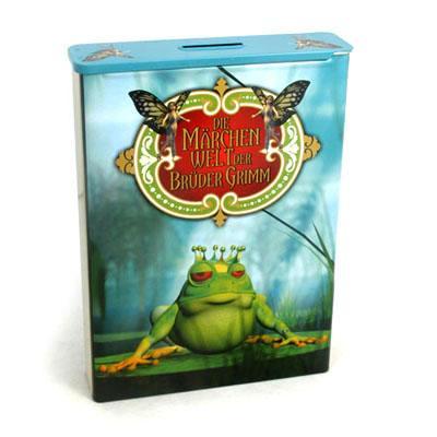 青蛙王子少儿动画片DVD包装铁盒马口铁