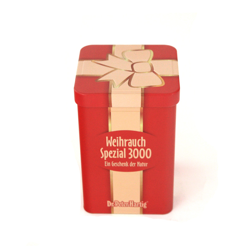 正方形冻顶乌龙茶铁盒包装定制工厂