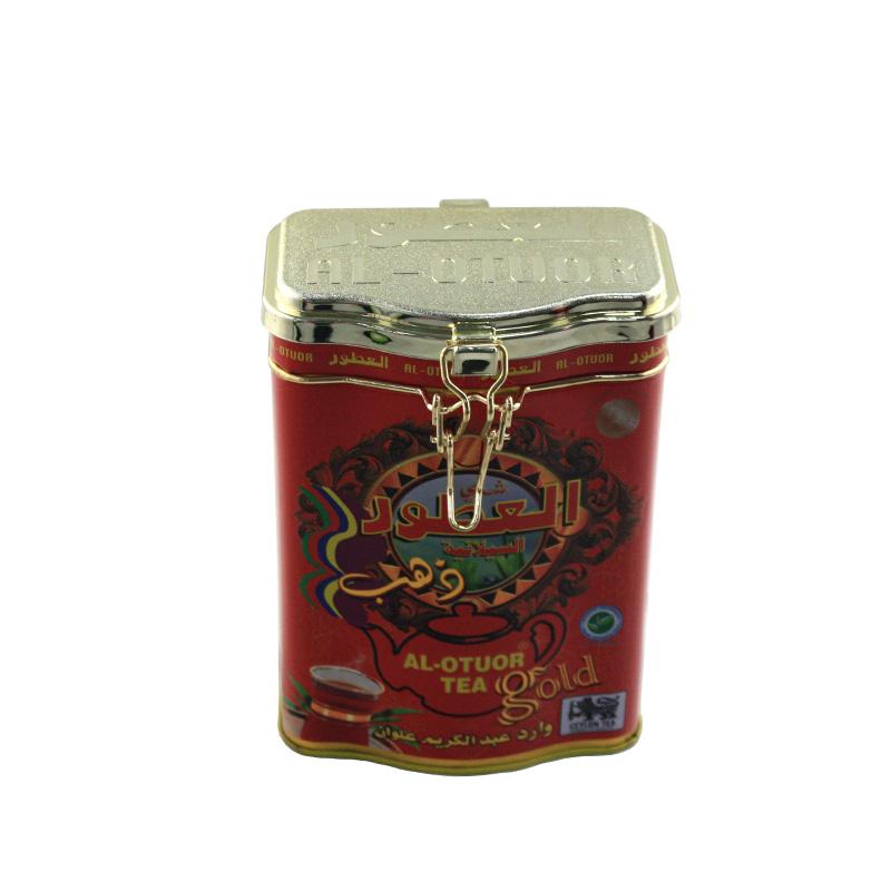 方形密封式红茶茶叶马口铁盒工厂