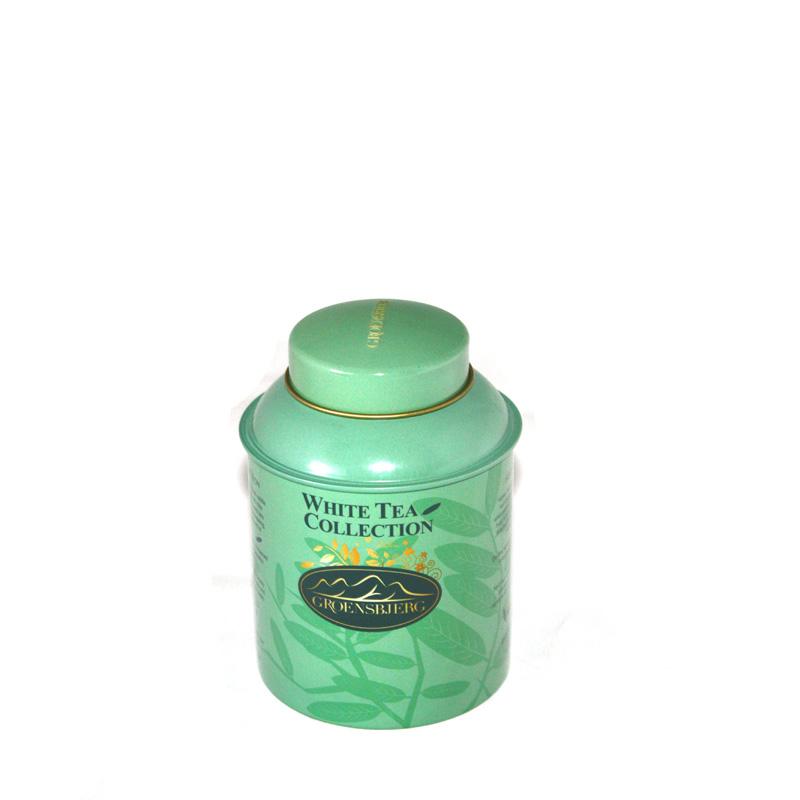 圆形绿茶茶叶金属铁盒定做厂家