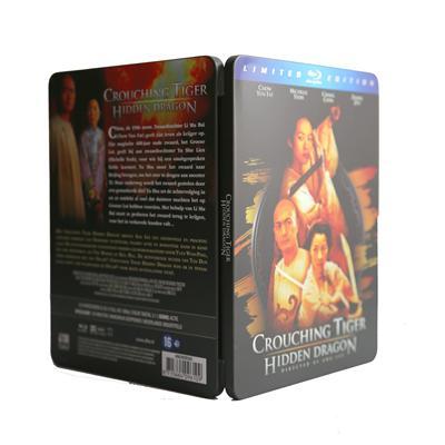 国产古装大片DVD电影光碟包装盒马口铁铁盒
