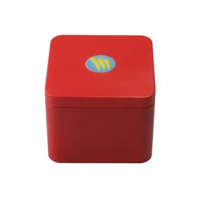 高档方形春节喜糖铁盒定制|内塞式春节喜糖包装铁盒