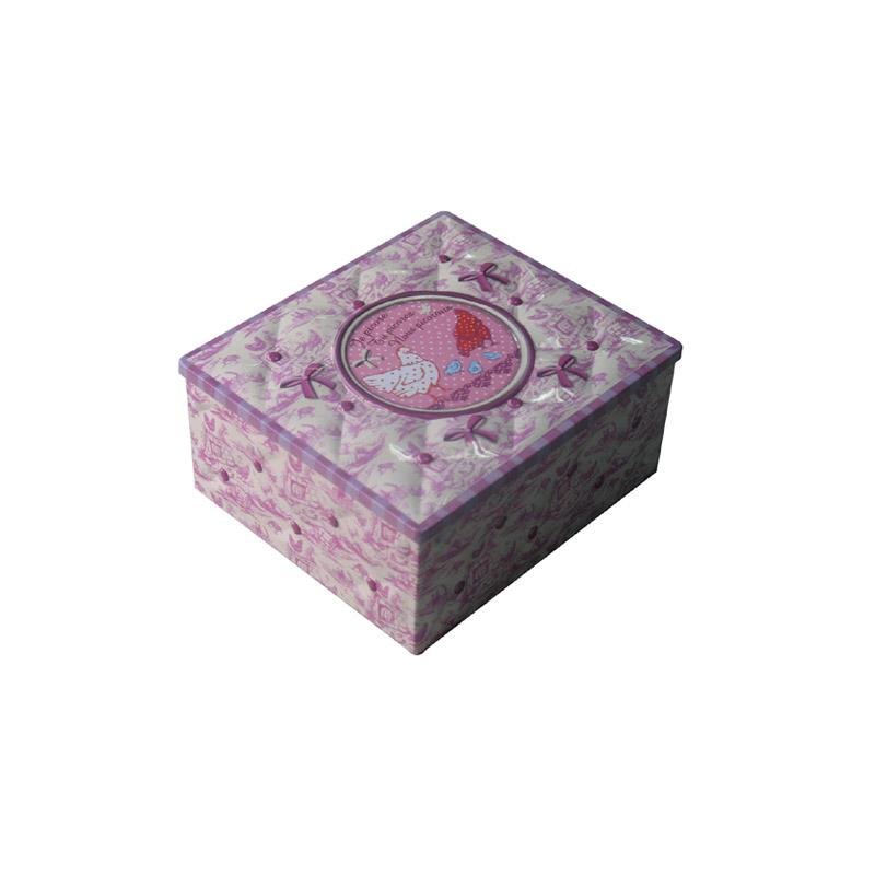 上海高档方形人参片马口铁包装盒|人参片铁盒