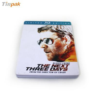 长方形高级马口铁美国电影DVD包装金属铁盒