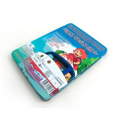 儿童经典日本动漫电影DVD包装盒马口铁金属盒