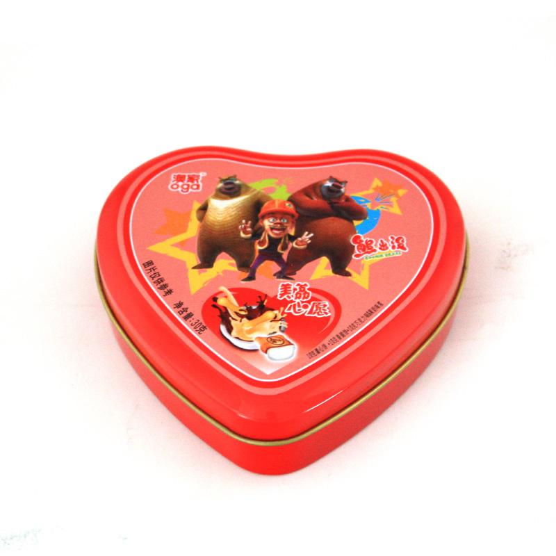 浪漫告白蜡烛铁盒|情人节蜡烛铁盒包装