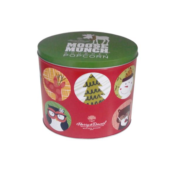 厂家直销椭圆形饼干铁盒|饼干马口铁包装盒