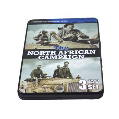 欧美军事类战争电影DVD光碟包装盒马口铁铁盒