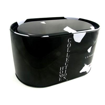 深圳大号椭圆形花茶铁盒包装|精装彩印花茶铁盒子定制工厂