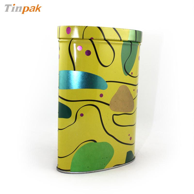 可定制椭圆形枸杞铁罐|优质宁夏枸杞铁罐包装