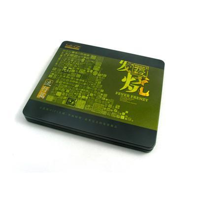 国产流行音乐专辑CD光碟包装铁盒马口铁金属盒定制