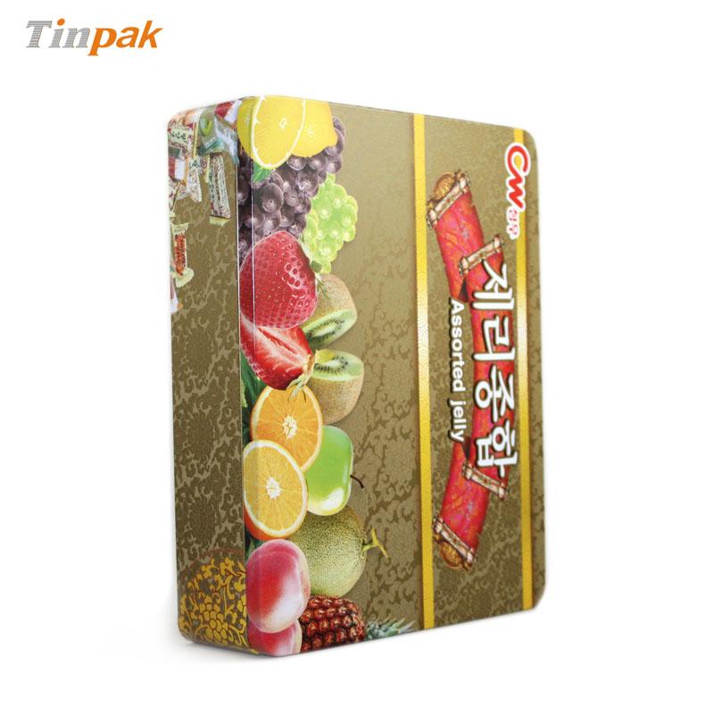定做北京方形精美铁喜糖盒|铁喜糖盒生产厂家