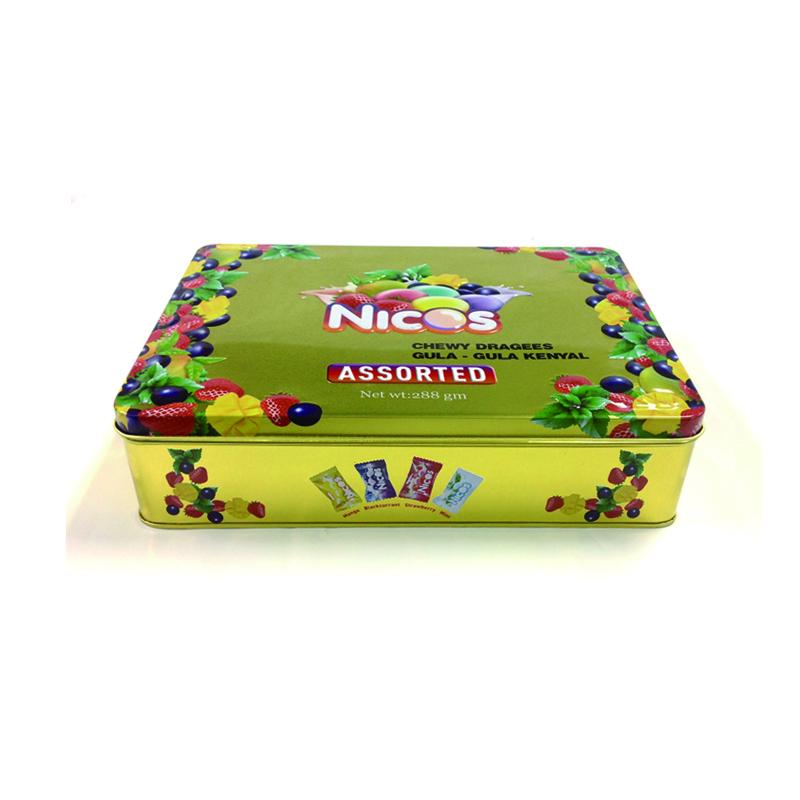 精美糖果铁盒生产|糖果铁盒定制