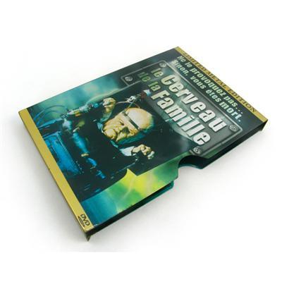 推拉式高品质欧美电影光碟包装马口铁铁盒