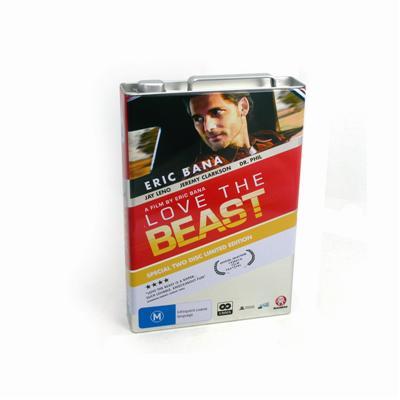 创意正品惊悚恐怖电影DVD光碟包装铁盒