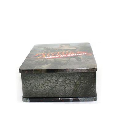 丛林射击类游戏DVD光碟包装铁盒