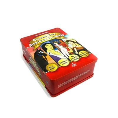欧美动画片DVD包装盒 少儿动画片光碟包装铁盒