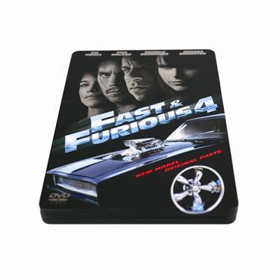 速度与激情系列电影DVD光盘包装盒