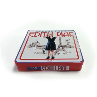 爵士摇滚流行音乐CD铁盒定制生产