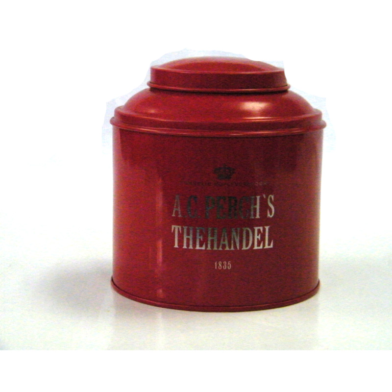 高档圆形红茶茶叶马口铁盒定制工厂