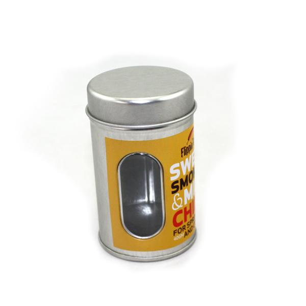 圆形带内盖调味品铁罐|黑胡椒粉调味铁罐