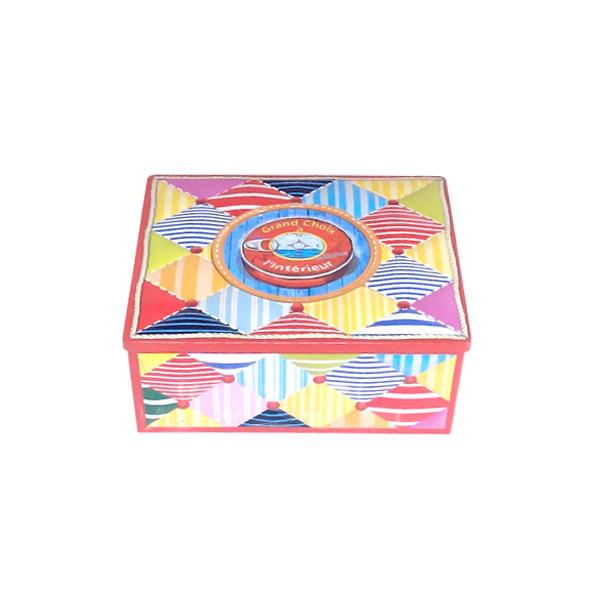 马口铁新疆和田枣盒方形供应 带激凸新疆和田枣金属铁盒