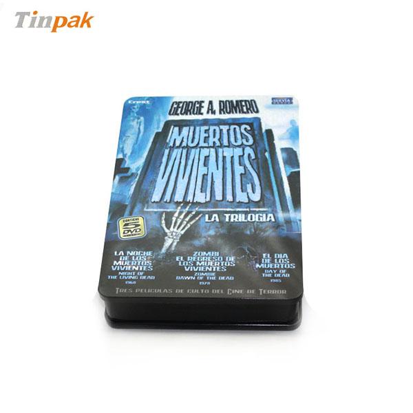 热播好莱坞大片光碟包装盒 新科幻电影DVD马口铁铁盒