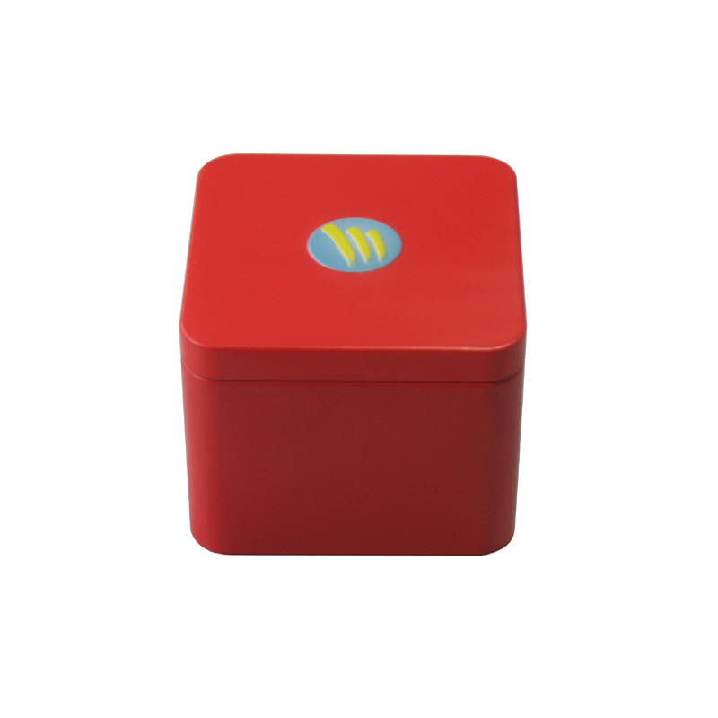 东莞工厂大量批发高档方形带雕刻糖果铁盒包装