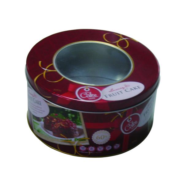 新品一级圆形贡枣铁盒定制 精装彩色贡枣马口铁包装盒加工厂