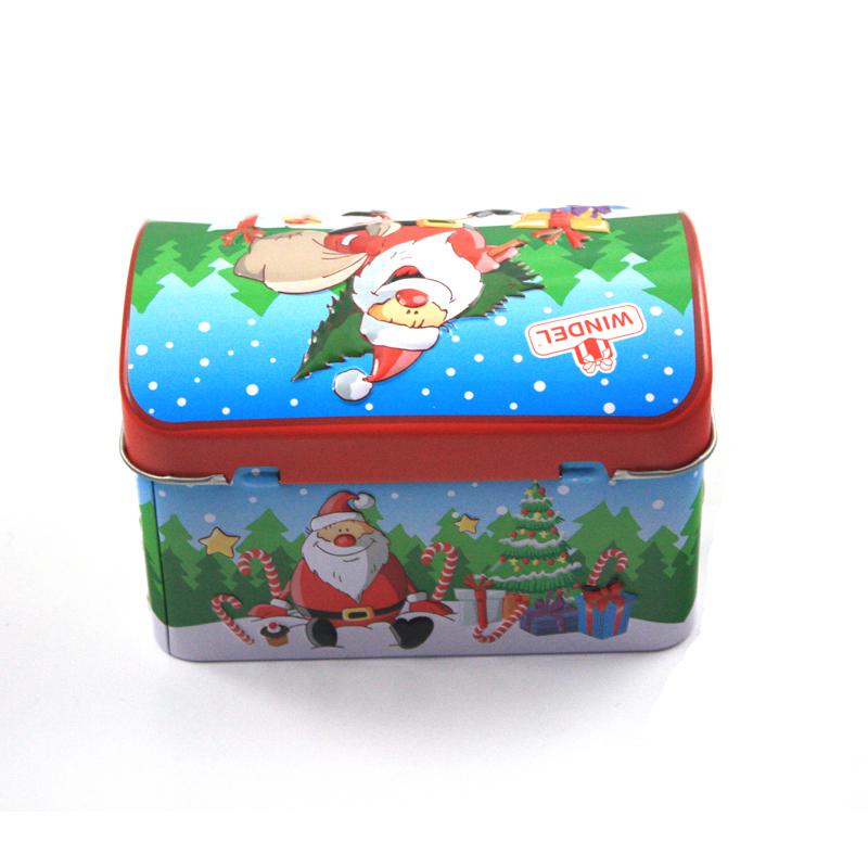 带锁扣儿童玩具礼品包装盒 儿童礼品包装可爱小铁盒