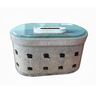 椭圆形巧克力包装盒铁盒 高档进口巧克力包装铁盒子定制厂家