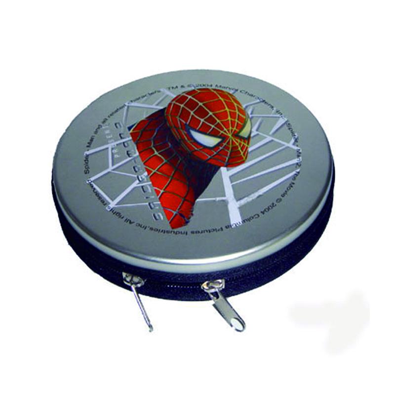 蜘蛛侠系列电影光碟包装盒 动画片DVD光盘包装铁盒定制