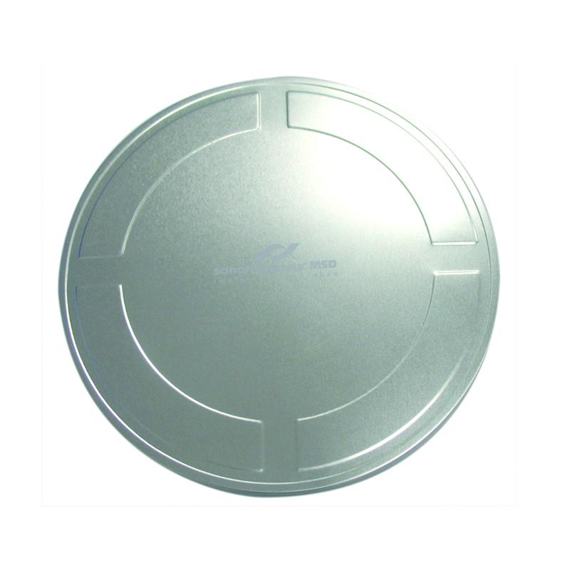 银光铁车载音乐CD包装盒 音乐CD光碟包装铁盒定制生产