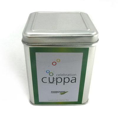 翻盖式台湾乌龙茶铁盒子生产加工