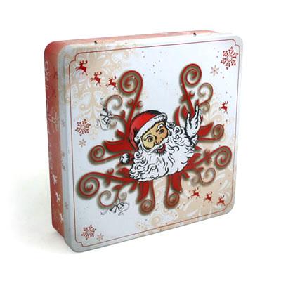 正方形翻盖式台湾槟榔包装铁盒定制生产 四色印刷台湾槟榔铁盒子制罐工厂