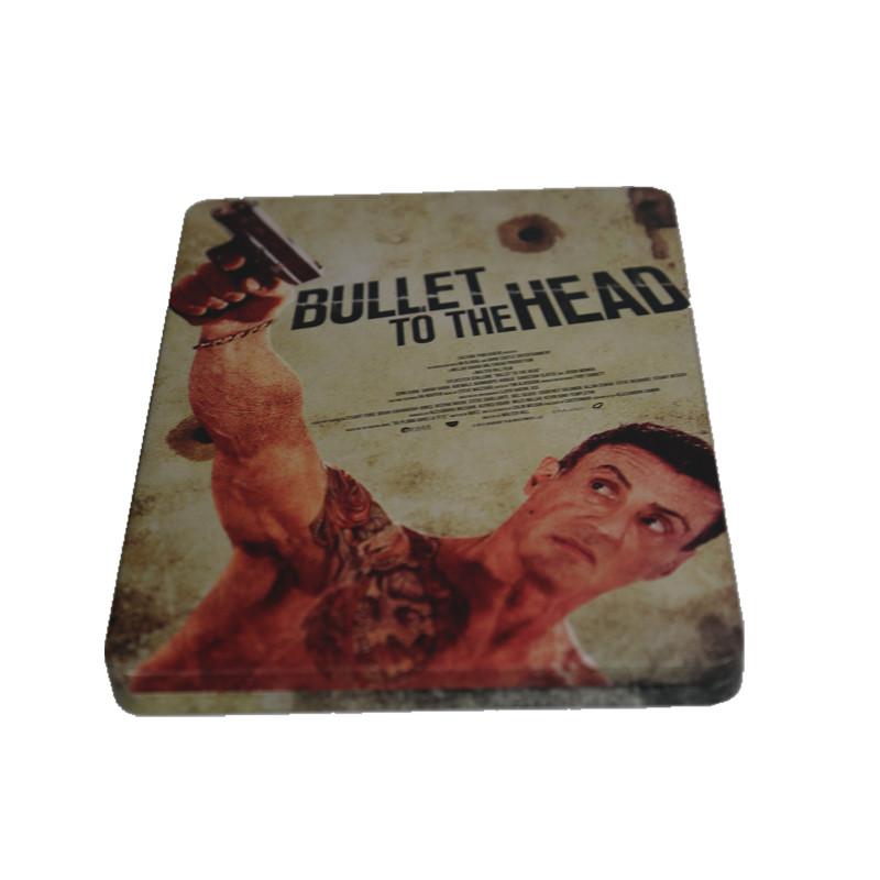 史泰龙金典系列电影光碟包装盒 动作电影DVD包装铁盒