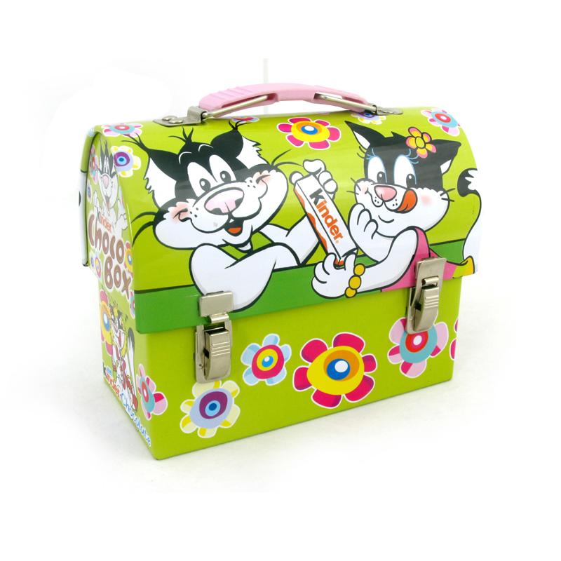 带锁扣高档礼品包装铁盒 儿童玩具礼品包装盒马口铁铁皮盒