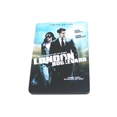 犯罪系列电影DVD光碟铁盒 厂家定制优质马口铁DVD光碟包装盒