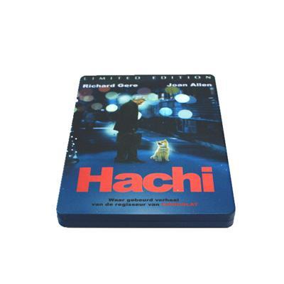 忠犬八公的故事感人电影DVD包装铁盒 马口铁光盘包装盒铁盒