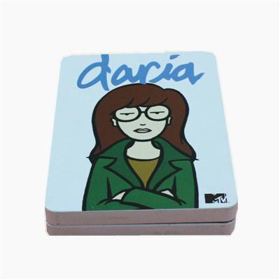 英语教学视频DVD包装铁盒 英语发音教程光碟包装盒定制
