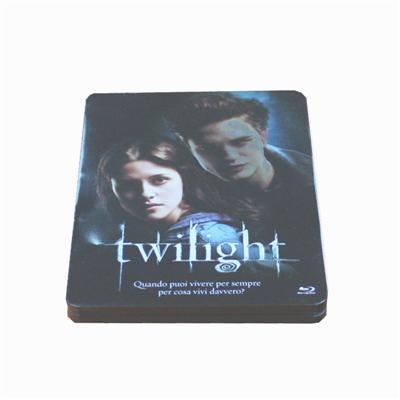 暮光之城电影DVD包装铁盒 热播电影光碟铁盒包装盒