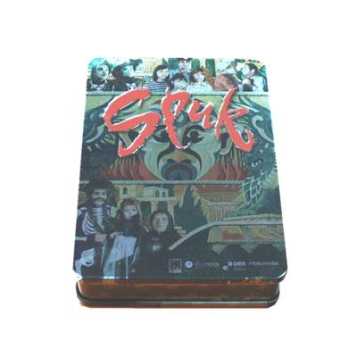 欧美催泪感人电影DVD包装铁盒 家庭电影光碟铁皮盒